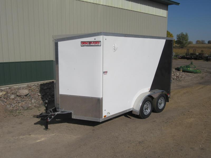 2022 7'x12' TA Discovery Enclosed Trailer