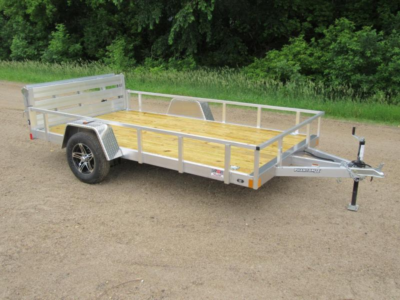 2021 6.5'x12' Stealth Aluminum Utility Trailer