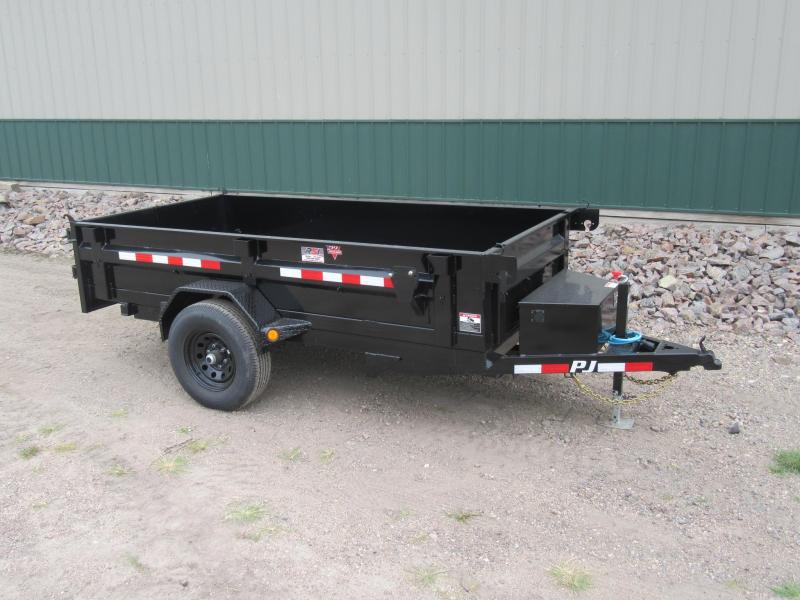 "2021 PJ 10'x60"" Single Axle Dump Trailer"