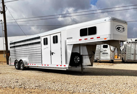 2021 4-Star Cowboy Tack Trailer