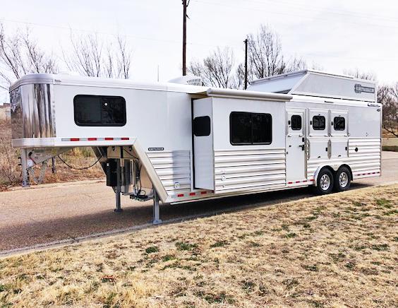 2020 Cimarron Trailers 3 Horse Trailers Horse Trailer