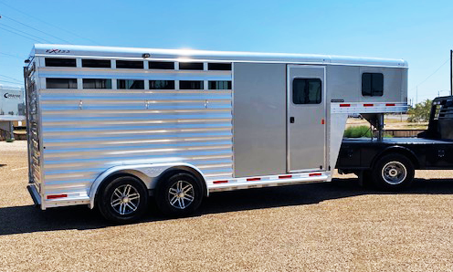 2020 3 Horse Exiss Stock Trailer