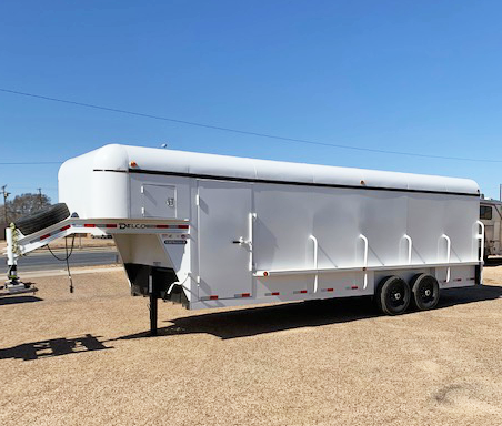 2019 Delco 24' Enclosed Cargo Trailer
