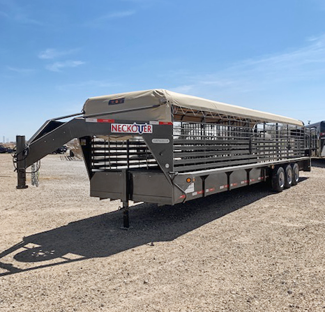 2021 Neckover 32' Stock Trailer