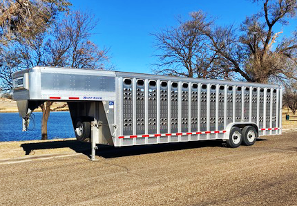 2021 EBY Stock Trailers Livestock Trailer