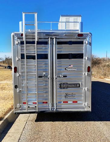 2021 Cimarron Trailers Stock Combo Trailer Livestock Trailer