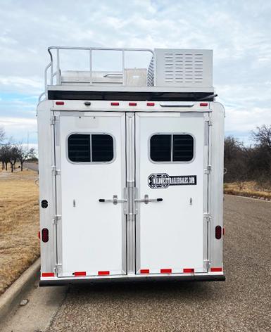 2020 Elite 4 Horse Living Quarters Trailer