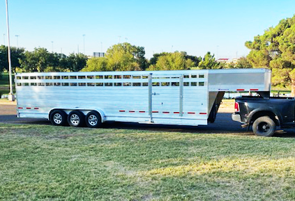 2020 EBY 30' Stock Trailer