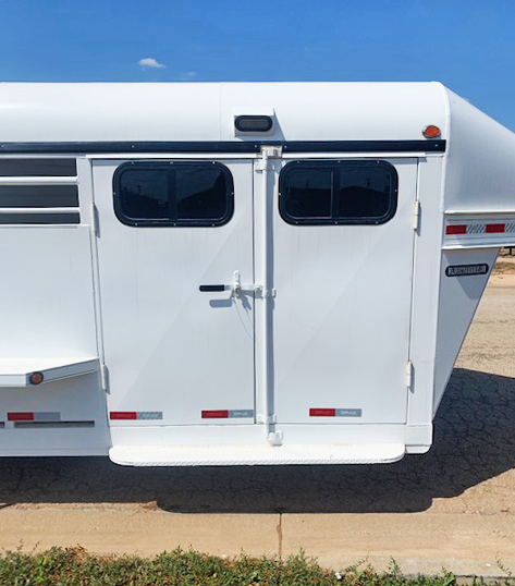 2020 Delco 4 Horse Trailer with Smart Tack