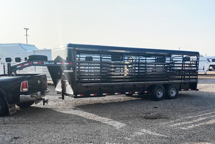 2021 Delco 24' Black Stock Trailer