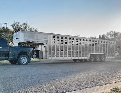 2022 EBY Stock Trailers Livestock Trailer
