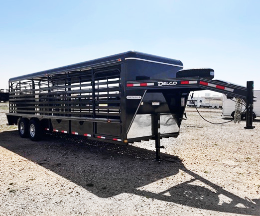 2020 Delco 24' Stock Trailer