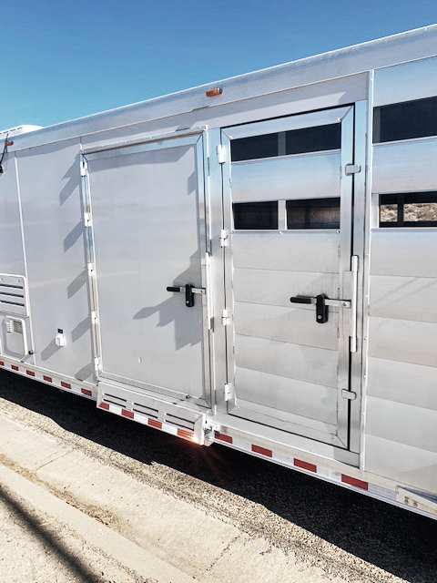 2018 Twister Stock Combo Living Quarters Horse Trailer
