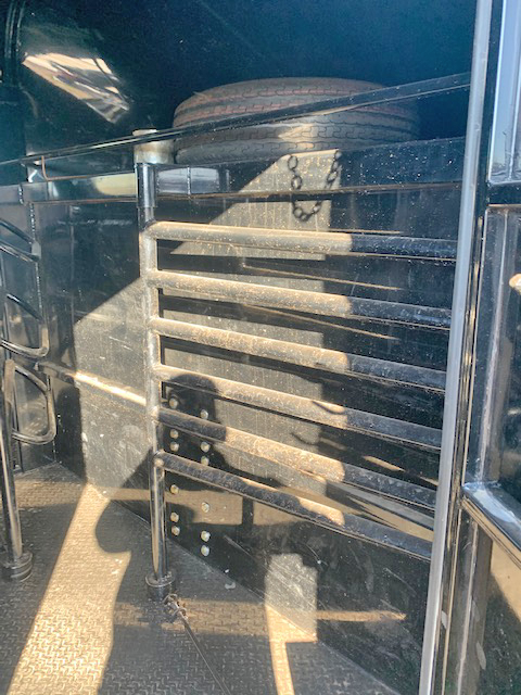 2019 Black 24' Delco Stock Trailer