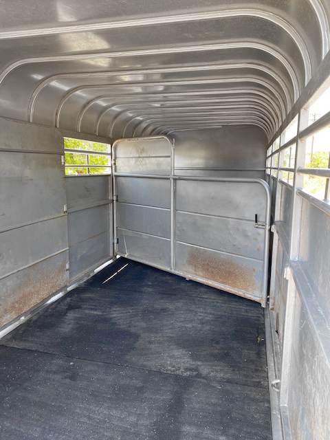 2018 Grey 24' Delco Stock Trailer