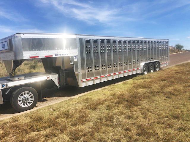 2019 EBY Ruff Neck Livestock Trailer