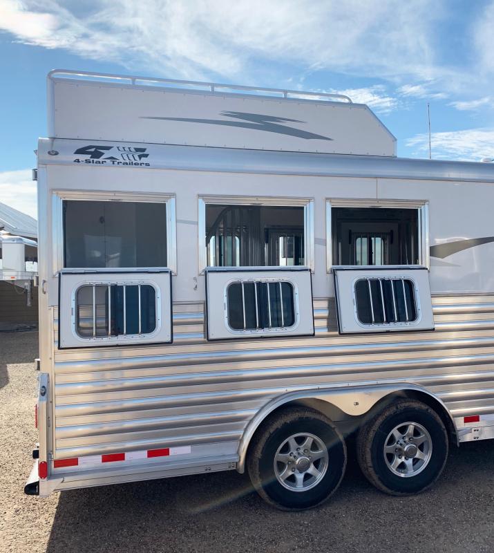 2019 4-Star 3 Horse Trailer