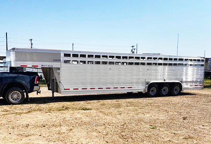 2020 EBY 32' Ruff Neck Stock Trailer
