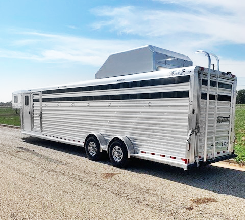 2022 4-Star 7 Horse Cowboy Tack Horse Trailer