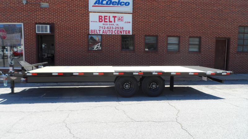 2021 H and H Trailer 102X22 PTHD 10LB 15K BUMPER PULL
