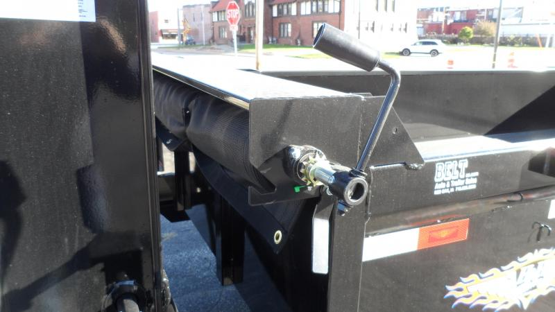 2022 H and H Trailer 83x14 Industrial Gooseneck Dump Trailer