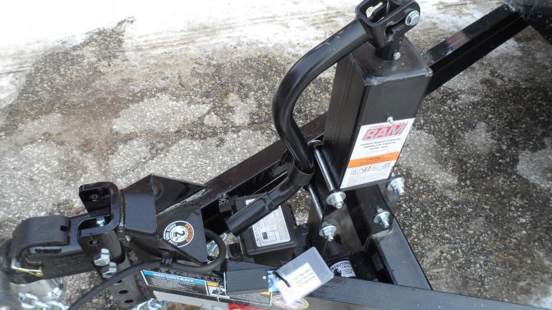 2021 H and H Trailer 82x20 Gravity Tilt Equipment Trailer  16