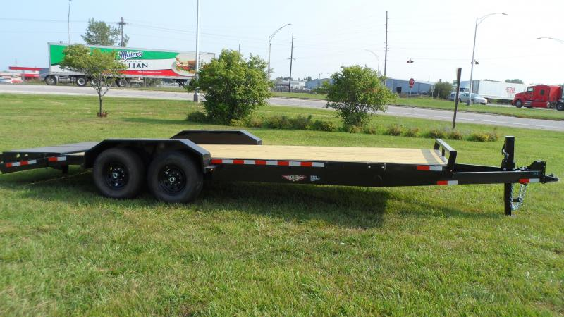 2022 H and H Trailer 82x18+4 Super Deluxe Ramp Industrial Equ