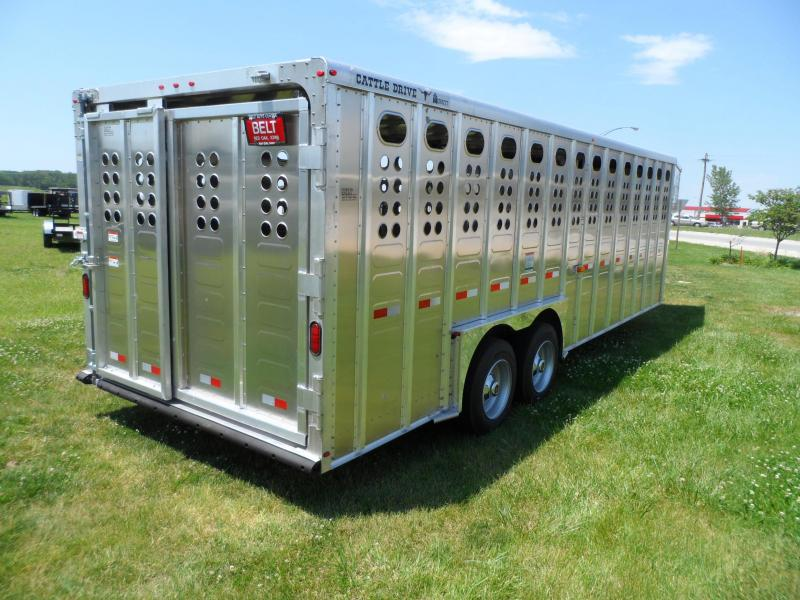 2021 Merrit Trailers Cattle Drive Livestock Trailer