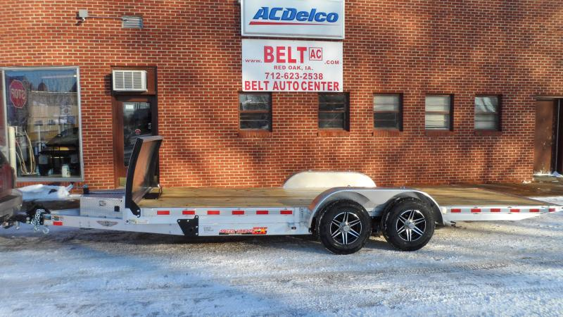 2021 H and H Trailer 82x20 Aluminum Electric Tilt Low Profile