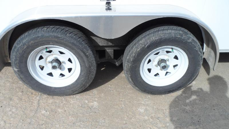 2021 H and H Trailer 7x14 HH Series Round Top V-Nose Enclosed
