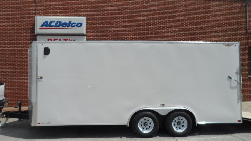 2021 H and H Trailer 8X18 TANDEM FLAT TOP HH VN 10K CARGO