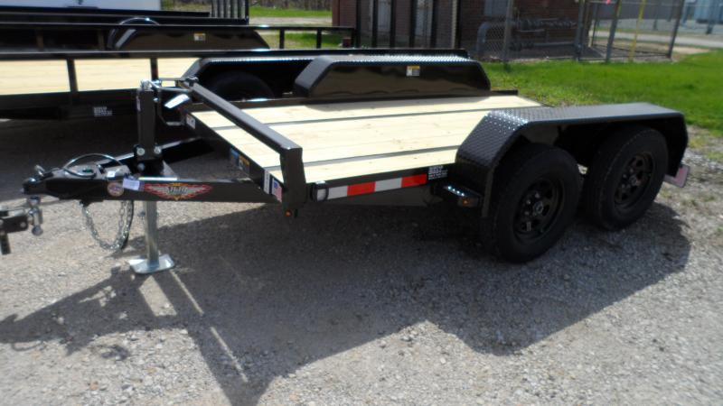 2021 H and H Trailer 60X10 FUEL 7K