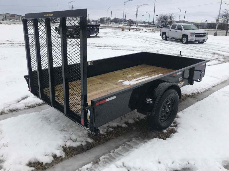 2021 H and H Trailer 66x10 Solid Side Utility Trailer  3K Idl