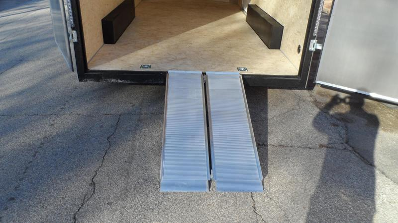 2020 H and H Trailer 8X16 TDM FLAT TOP HH VN 10K CARGO  (Hail damage call for pricing.)