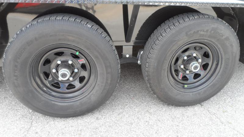 2021 H and H Trailer 82X18+2 HD FLATBED DOVE 10K