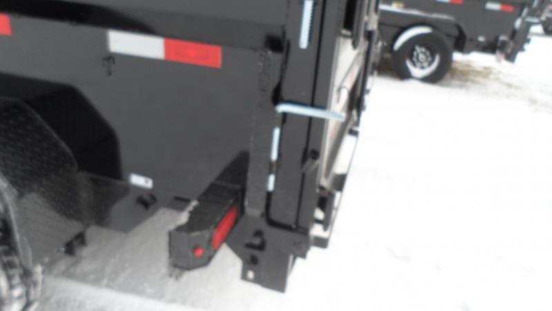 2021 H and H Trailer 83x16 Industrial Dump Trailer  14K Sciss