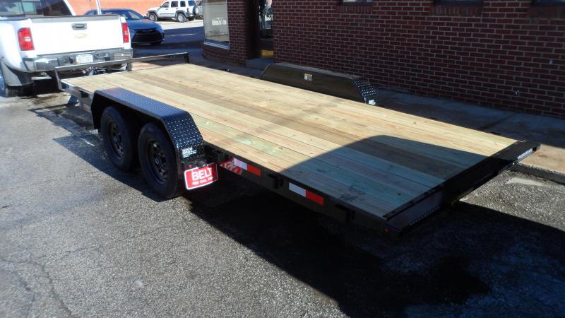 2021 H and H Trailer 82x18 Manual Tilt Speed Loader Car Haule