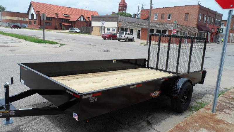 2020 H and H Trailer Utility Solid Side Utility Trailer