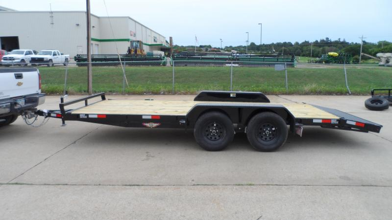 2021 H and H Trailer Car Hauler General Duty Car / Racing Trailer