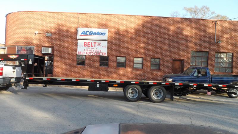 2021 H and H Trailer 102x20+10 Hydraulic Tail Gooseneck Decko