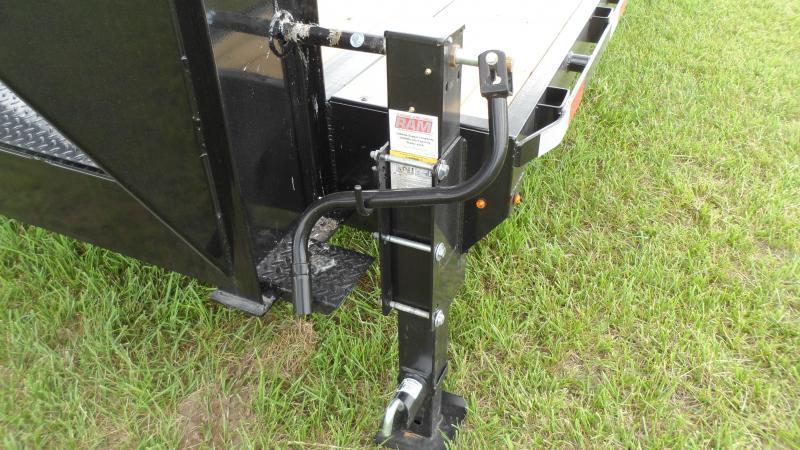 2021 H and H Trailer 102x20+5 Low Profile Dovetail Super Delu