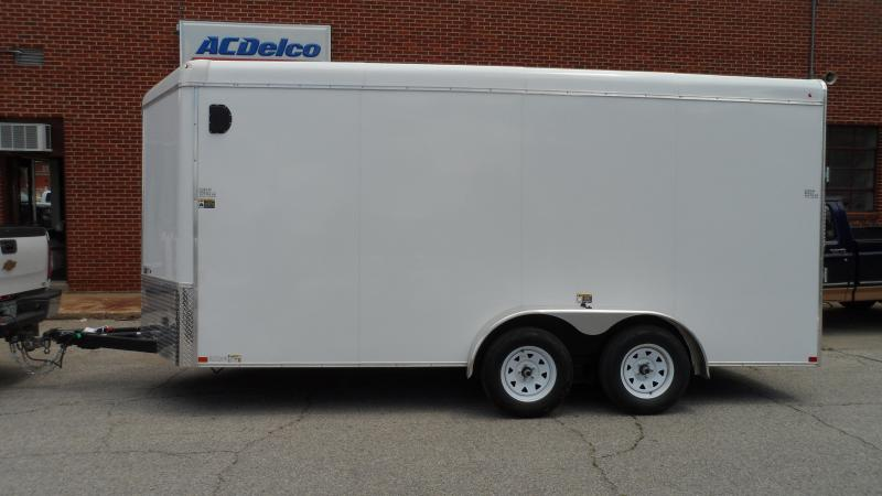 2020 H and H Trailer Cargo Round top V-nose Enclosed Cargo Trailer