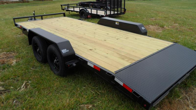 2021 H and H Trailer 82x16+2 General Duty Car Hauler Trailer