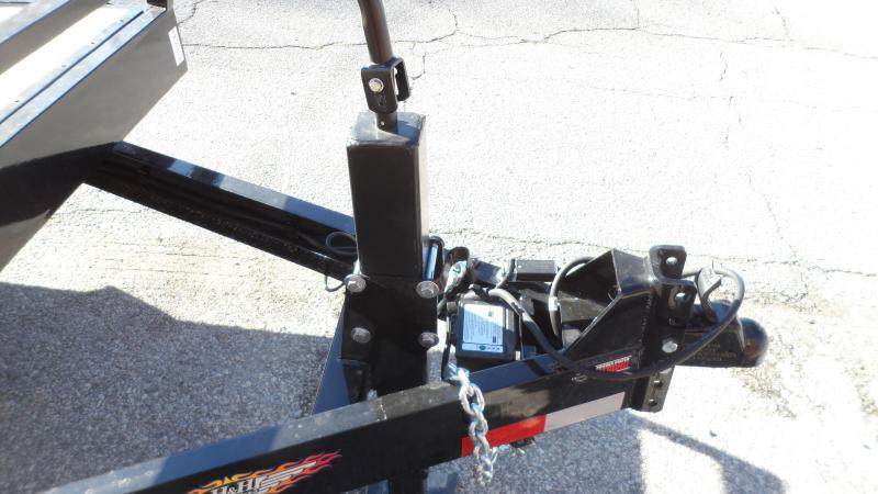 2021 H and H Trailer 82x18+6 Gravity Tilt Equipment Trailer