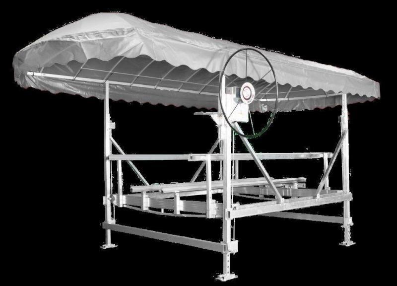 JBLUNDDOCK.COM 3800 lb ALUMINUM VERTICAL BOAT LIFT 120