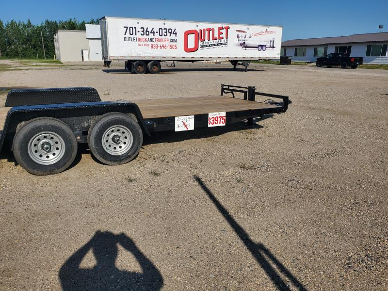 2019 Lund 20 STEEL CAR TRAILER by LUND Car / Racing Trailer
