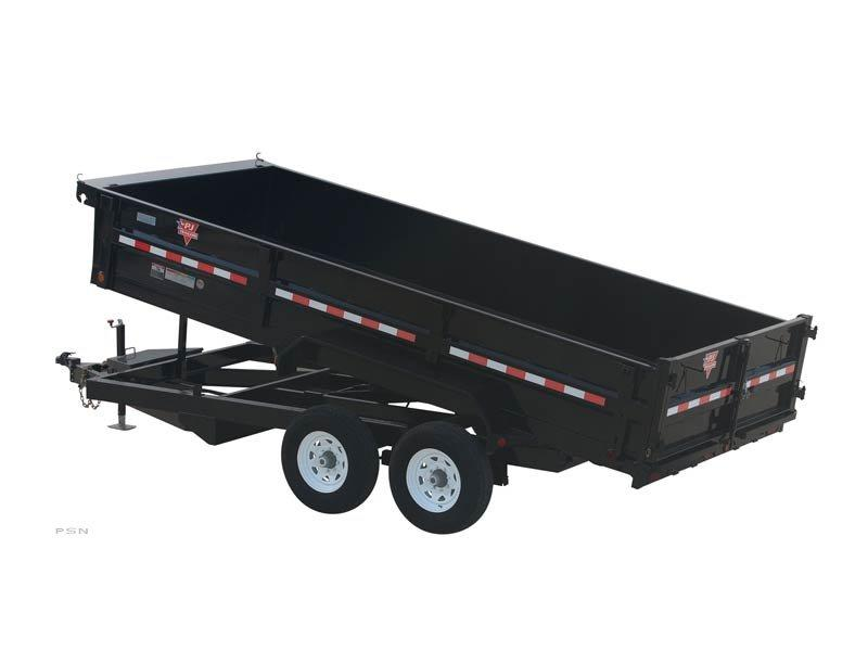 2019 PJ Trailers 83 in. XL Dump (D9) Dump Trailer