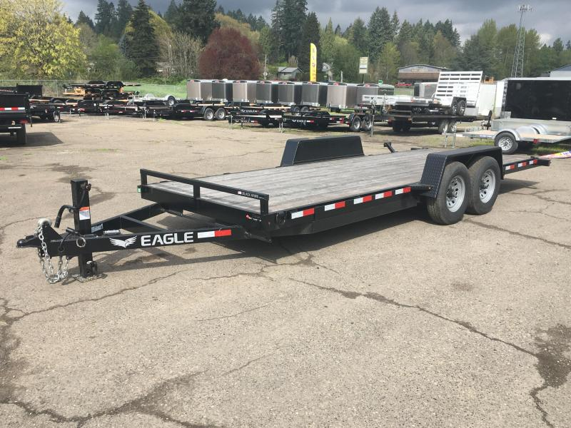 7x20 Equipment Trailer - 14k Heavy Duty Tilt