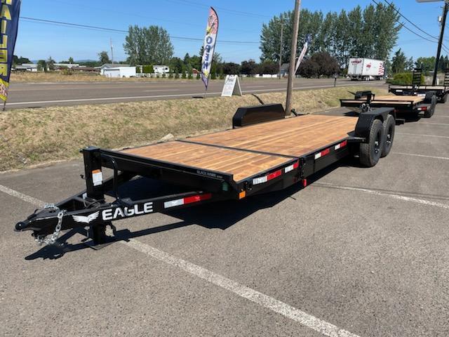 2021 Eagle 7x20 Split Tilt Equipment Trailer 14k