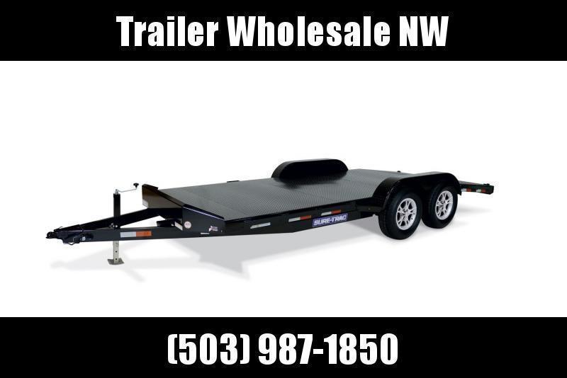 7x20 Car Hauler 7k Steel Deck Open Utility Trailer